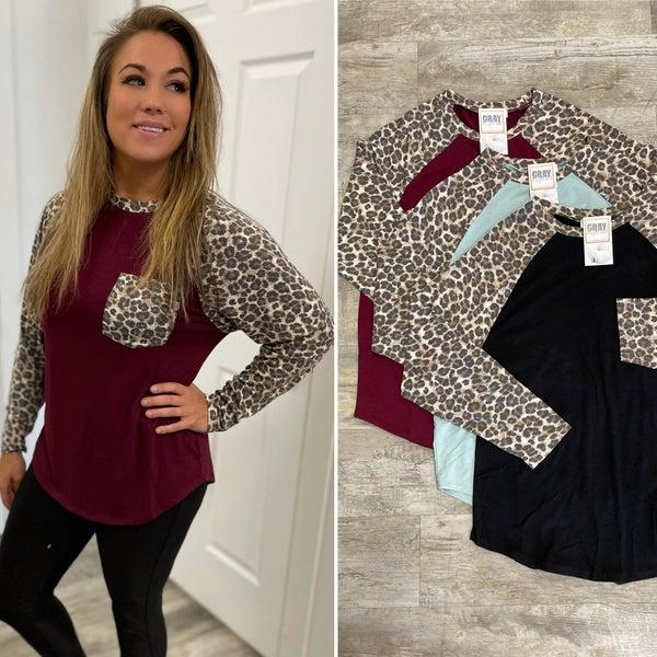 Kelsey Leopard Long Sleeve in all sizes