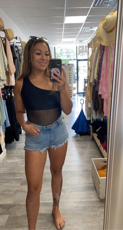 Julie One Shoulder Swimsuit