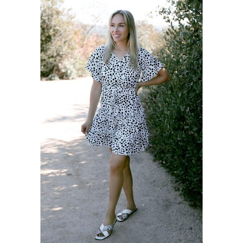 Veronica Dot Dress