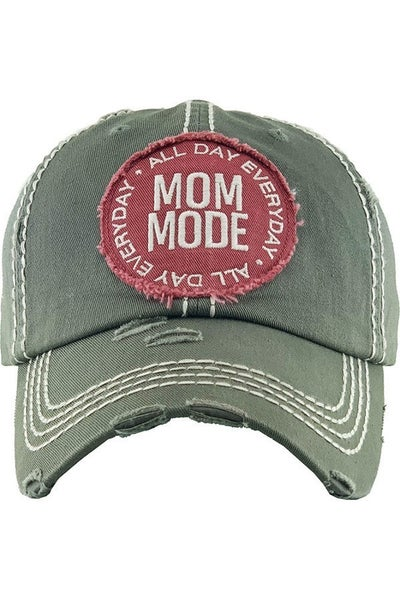 Mom Mode All Day Everyday Baseball Cap