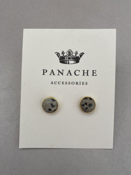 Gem Stud Earring by Panache