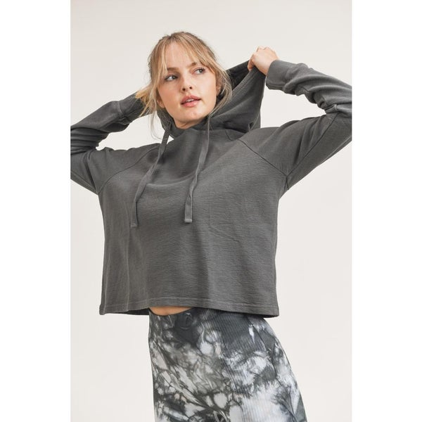 Mineral Wash Hoodie Pullover