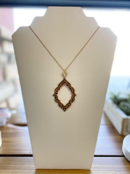 Cheetah Pendant Necklace