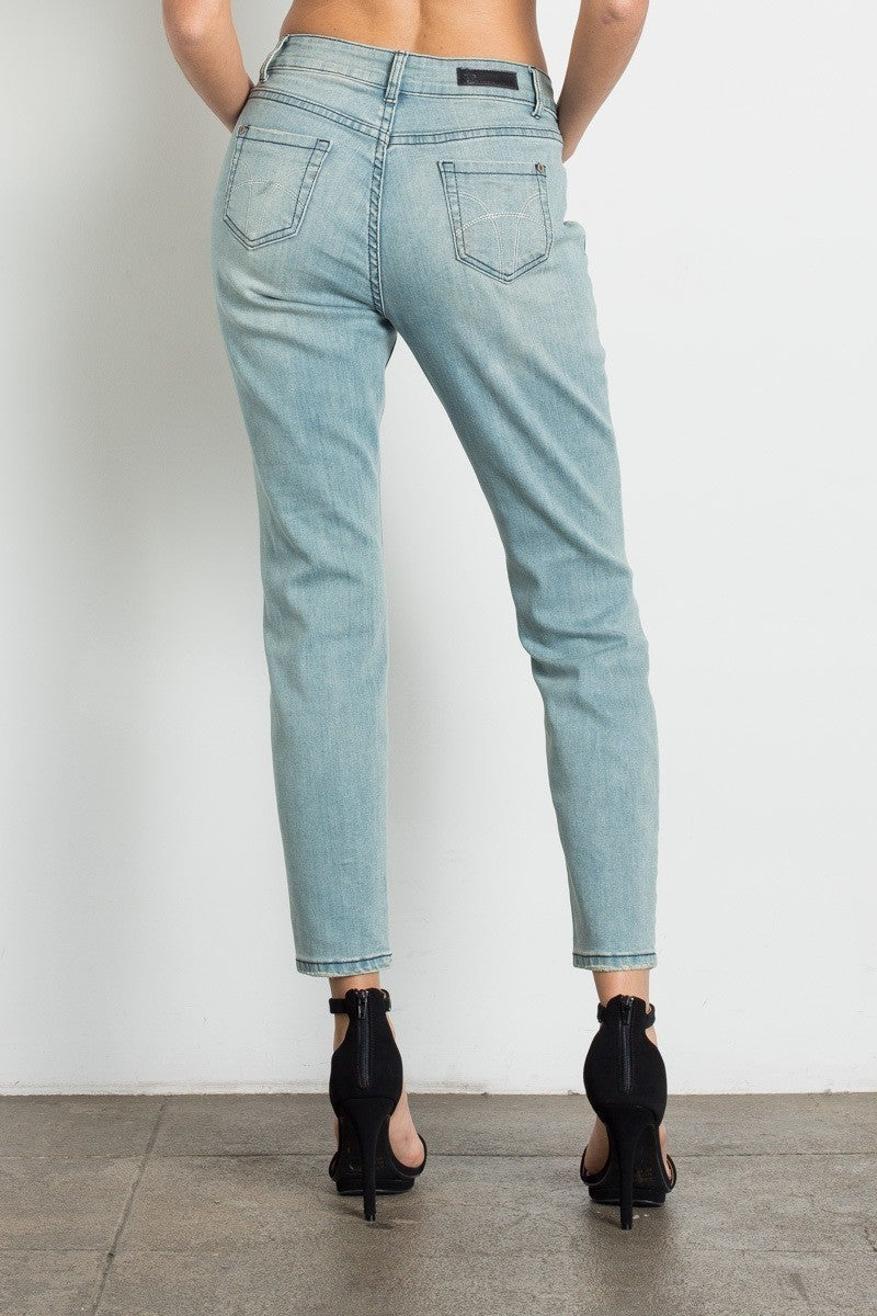 Distressed Relaxed Denim by American Blue
