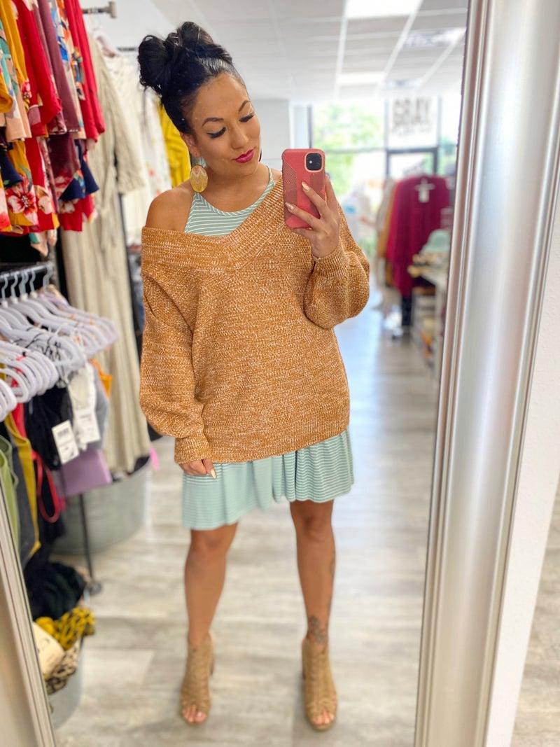 Tonya V-Neck Sweater