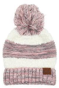 CC Popcorn Yarn Hat