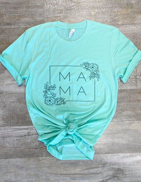 Mama T-Shirt in Mint