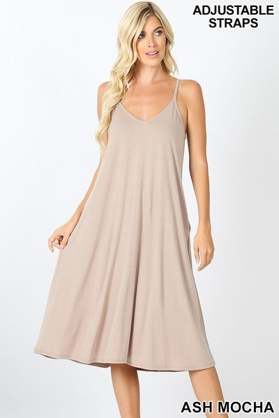Basic Dress (multiple colors)