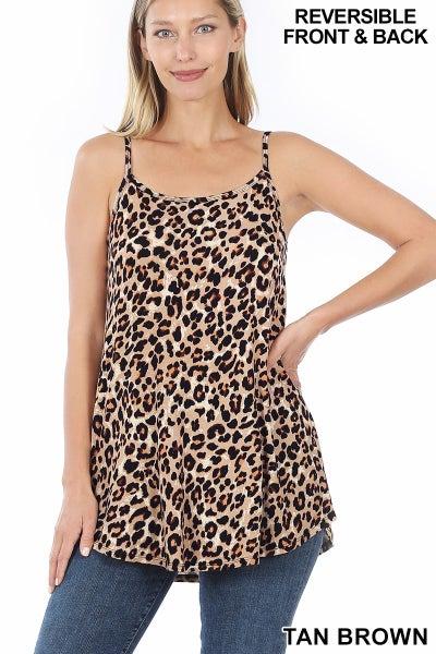 Reversible Leopard Cami