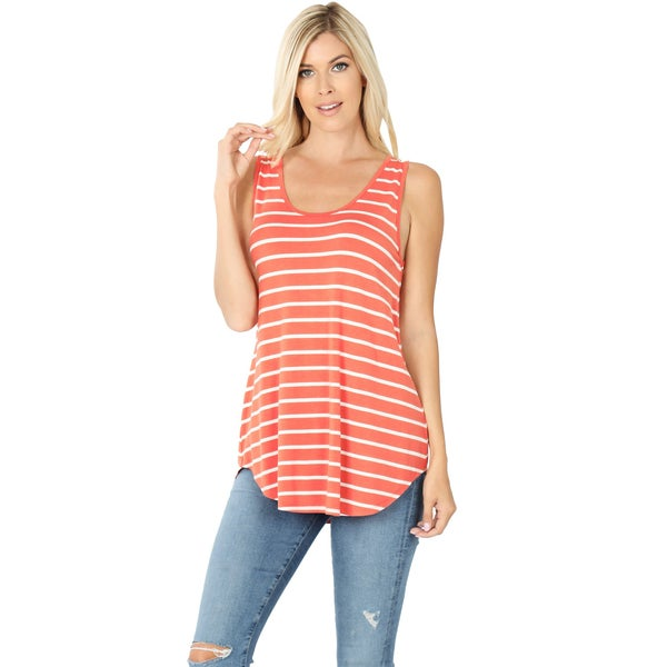 Striped Sleeve Top