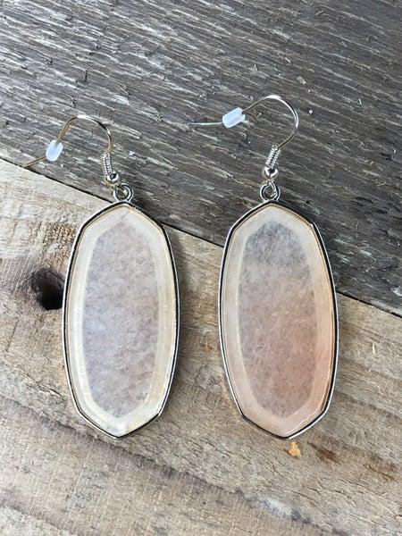 Stone Statement Dangle Earrings