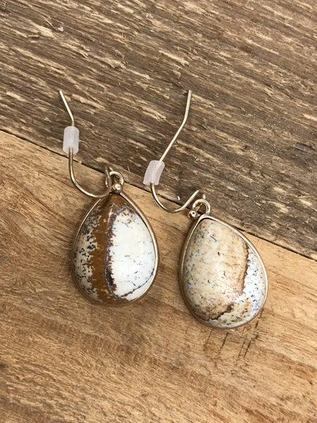 Tear Drop Hook Inspired Earrings