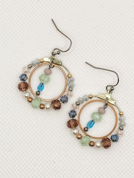 Samantha Hoop Earrings