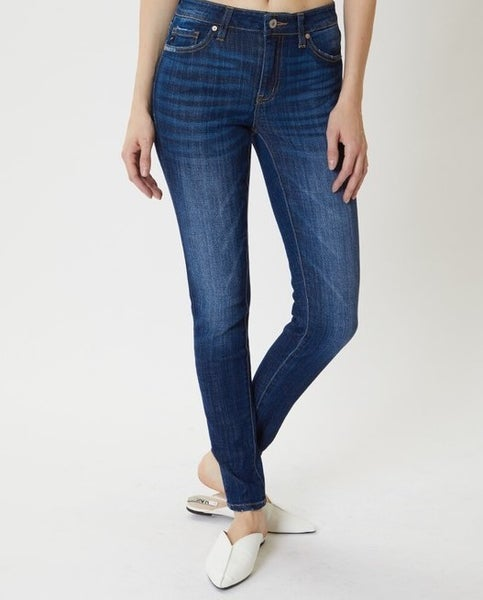 Kan Can Mid Rise Skinny Jeans