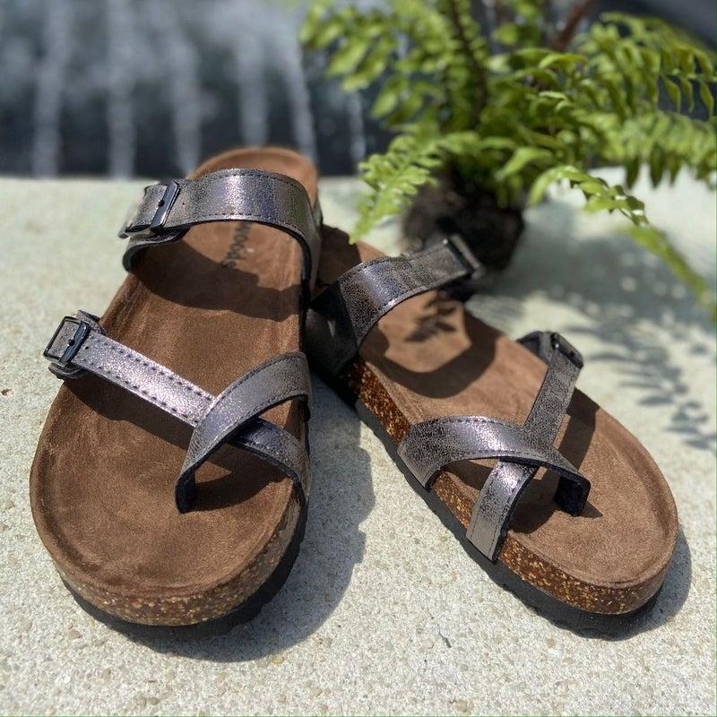 OutWoods Women's Sandal Pewter