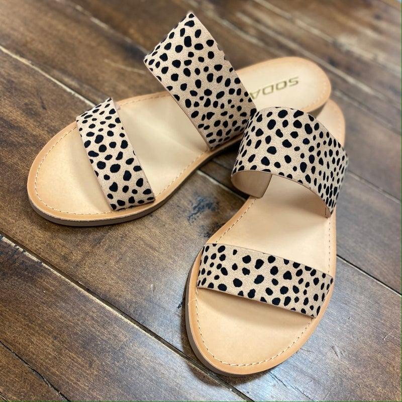 Allie Cheetah Sandal