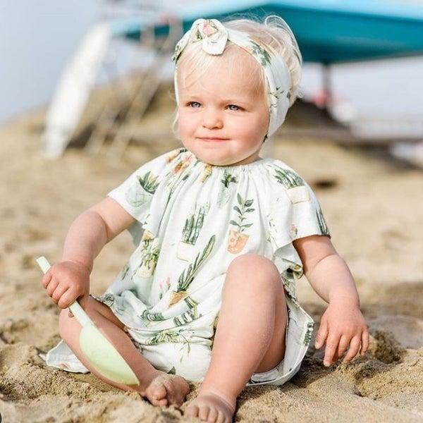 Milkbarn Dress & Bloomer