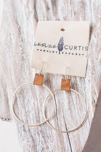 Leslie Curtis Grayson Hoop Earrings