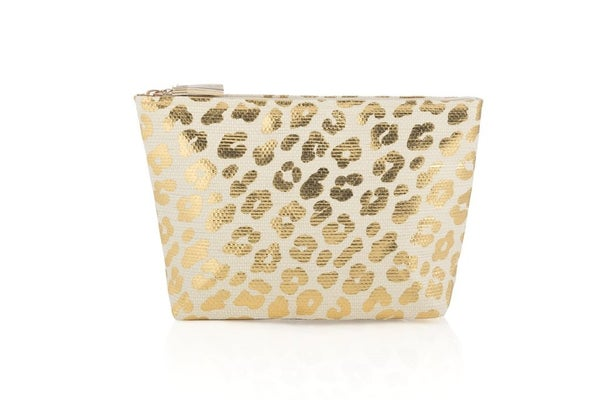 Cheetah Print Small Cosmetic Pouch