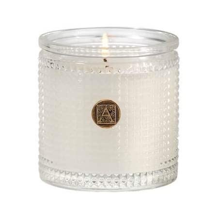Smell of Spring  Textured Glass Candle