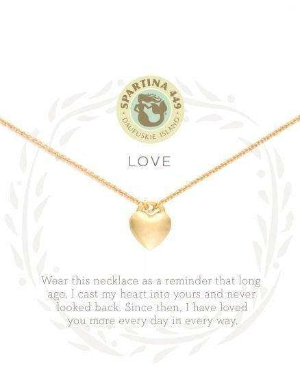 Spartina Love Heart Necklace