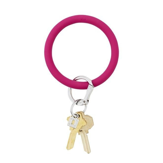 Oventure Silicone Key Ring-Solid