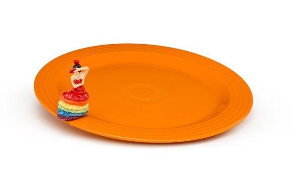 Nora Fleming and Fiesta Dinnerware Set