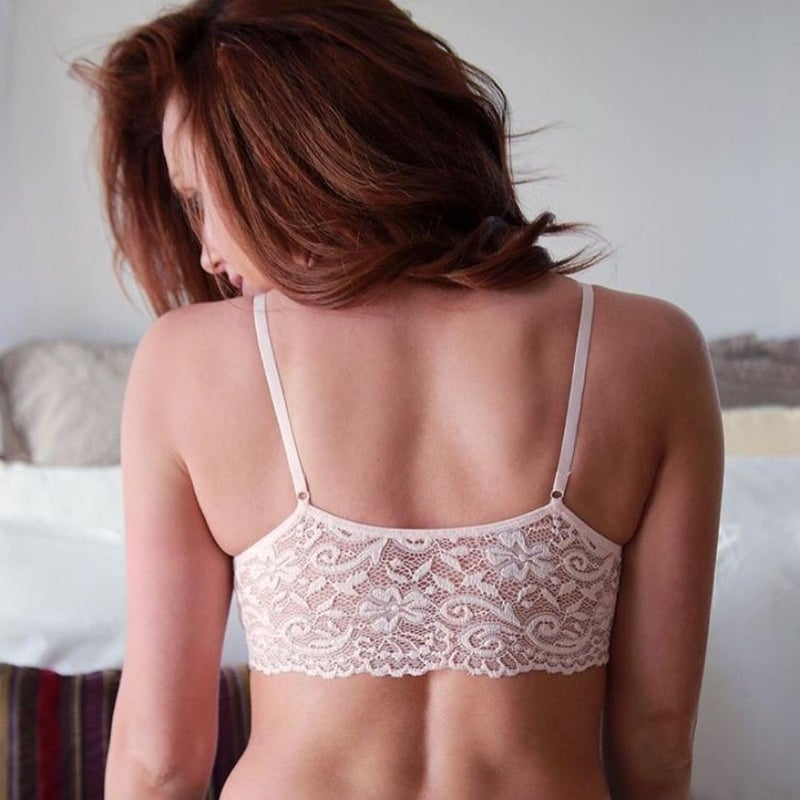 Lace Back Coobie Bra