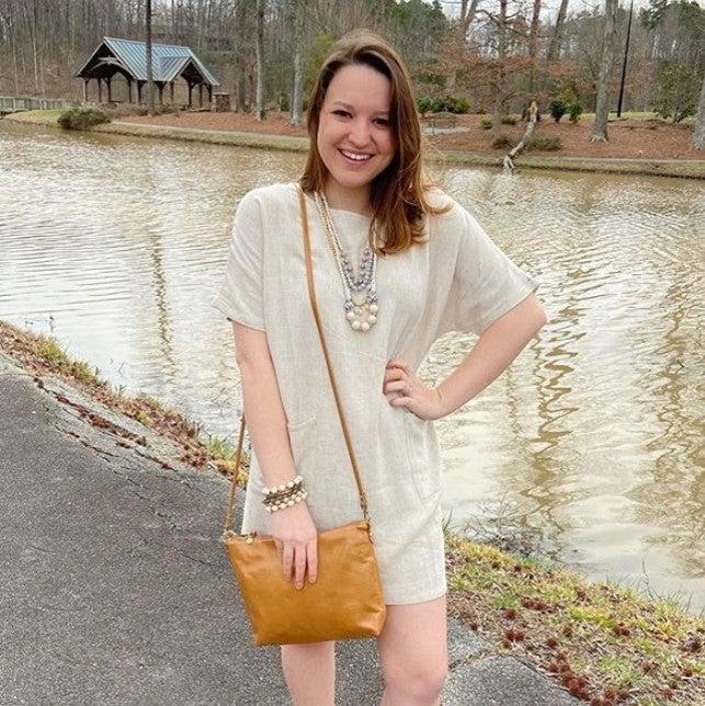 Linen Before You Dress w/ Pockets