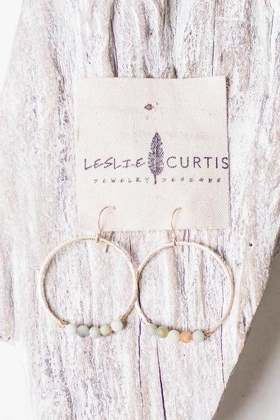 Leslie Curtis  Hoop Earring