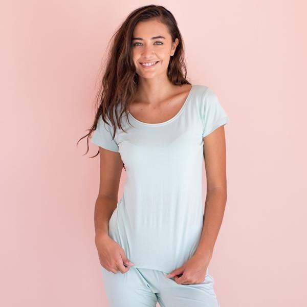 Faceplant Short Sleeve Pajama Top