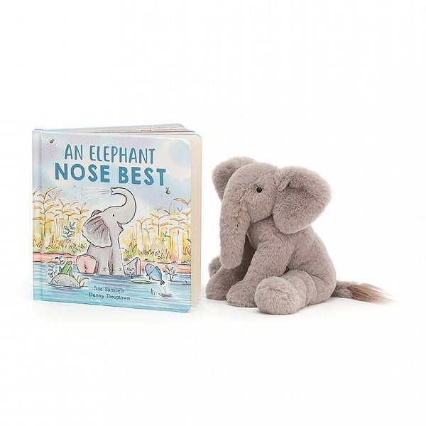 An Elephant Nose Best book and Plush Elphant