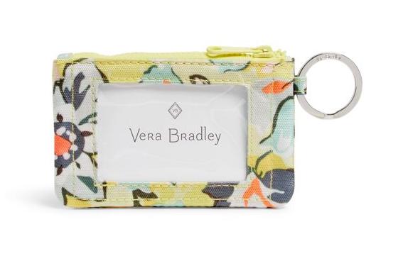 Vera Bradley Reactive Zip ID Case