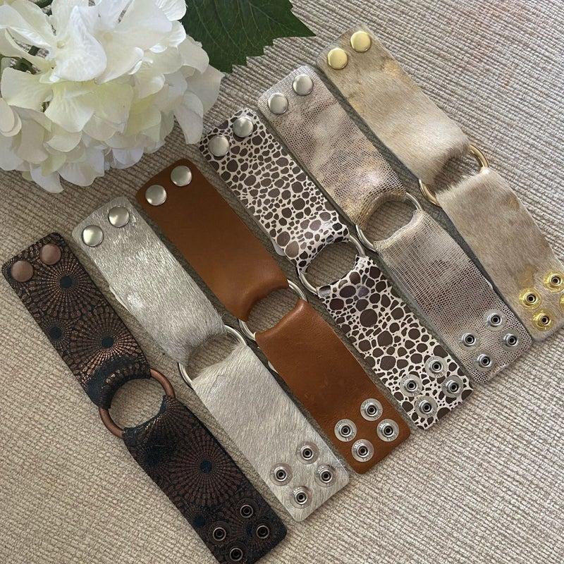 Leather Bracelet Keva Thick