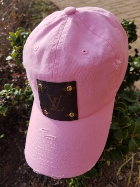 LV Patch Pink Hat