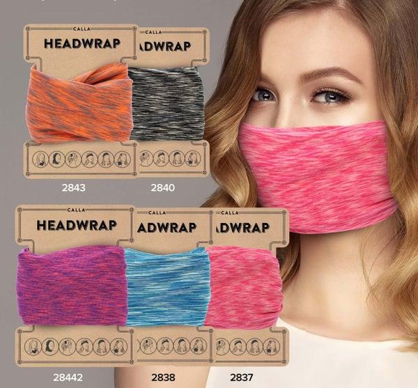 Calla Headwrap Face Mask