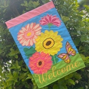 Magnolia Lane Garden Flags