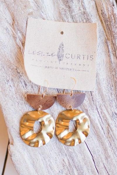 Leslie Curtis Margot Hoop Earring