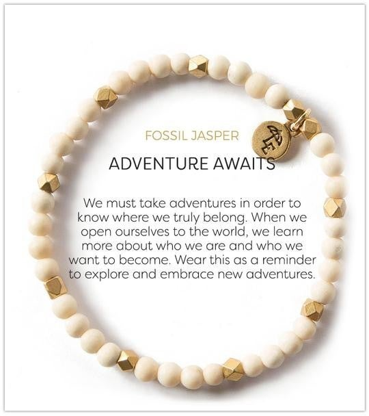 Fossil Jasper Create Adventure Bracelet from $25