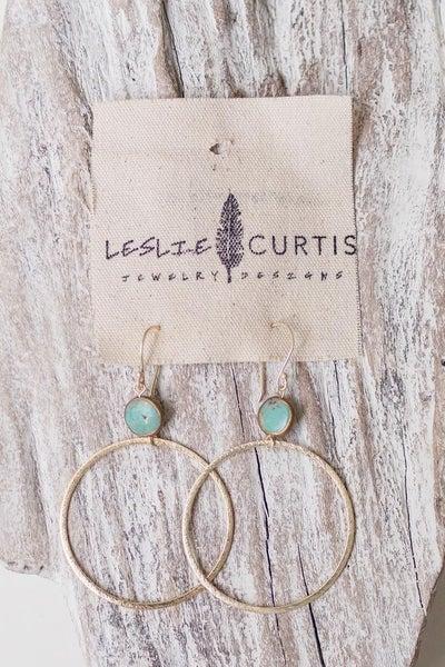 Leslie Curtis Harper Hoop Earring