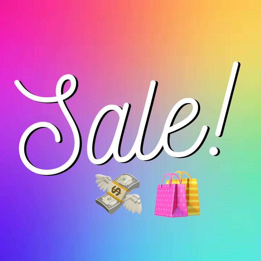 Shop Sale!