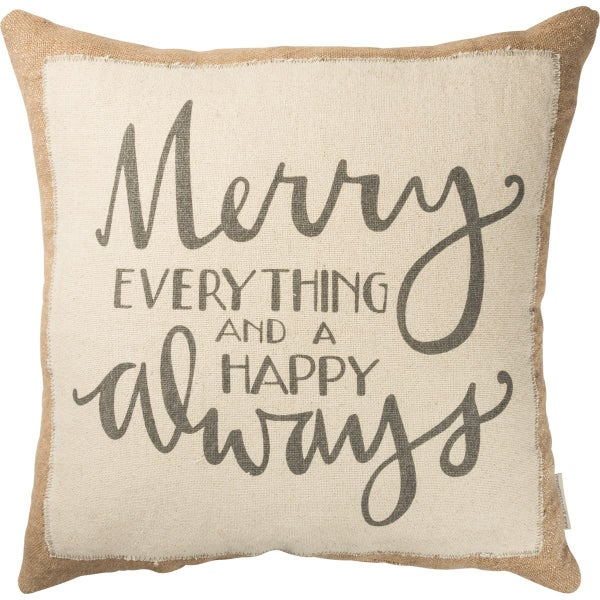 Merry Everything Pillow