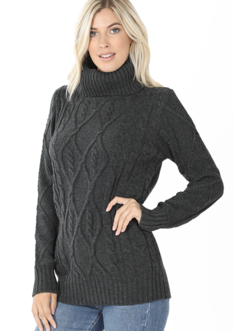 Sophia Cable Knit Sweater