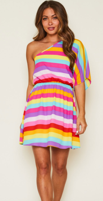 Fiesta Ready Mini Dress