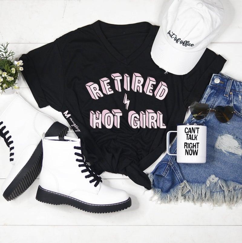 Retired Hot Girl Tee