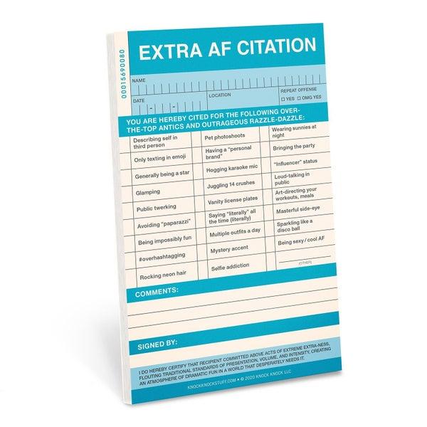 Extra AF Citation Pad