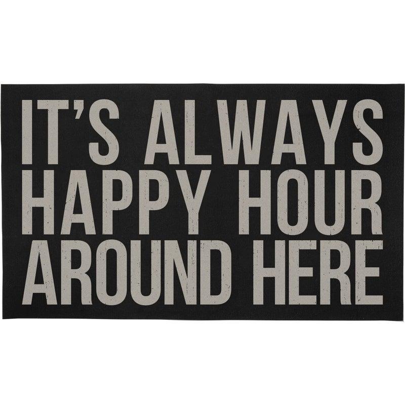 Rug- It's Always Happy Hour