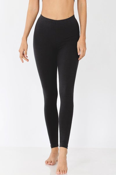PREORDER The Essential  Black Full Length Leggings