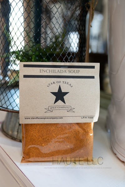 Enchilada Soup - Star of Texas