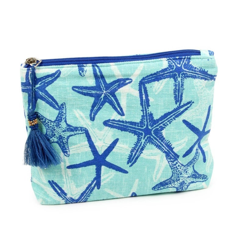 Under the Sea Starfish Print Pouch